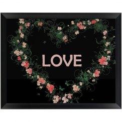 Floral Love Plaque