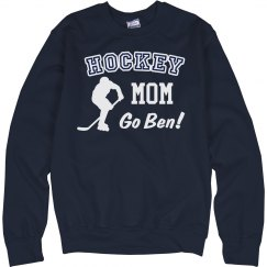 Custom Hockey Mom Crew