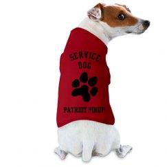 Service Dog Pawprint