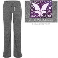 Purple Butterfly Floral
