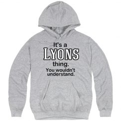 Its a Lyons thing