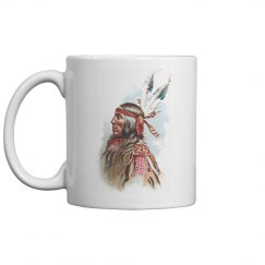 Gros Ventre Chief: Lean Wolf Coffee Mug
