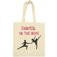 Dancer on the move