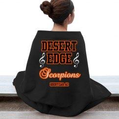 DE Marching Band Blanket