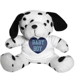 Baby Boy Dalmation Plush
