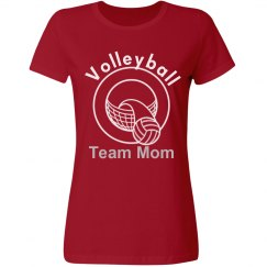 Volleyball Team Mom