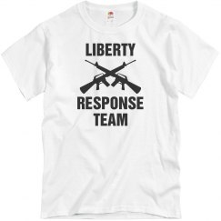 Liberty response team shirt