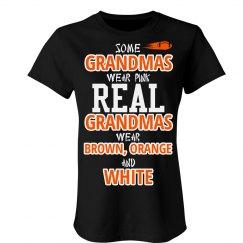 Brown orange and brown