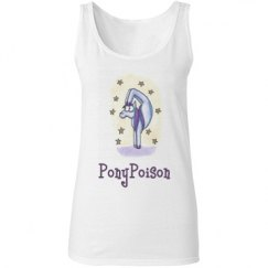Contortion Pony Ladies Tank Top