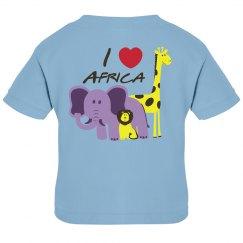I love Africa Baby Tee