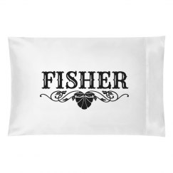 FISHER.Pillow case