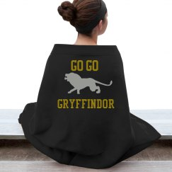 go go gryffindor blanket
