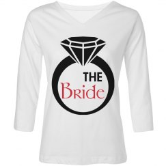 Diamond Ring Bride Shirt