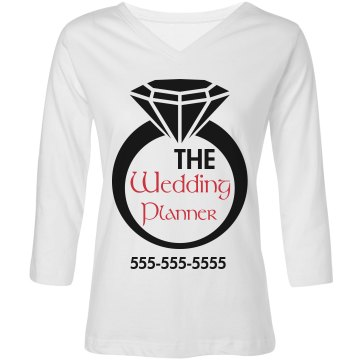 The Wedding Planner Custom Shirt