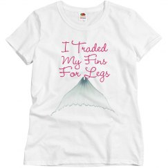 """""""Fins For Legs"""" Relaxed Fit Tee"""