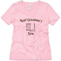 Real grandma's sew