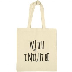 Witch I might Be Tote