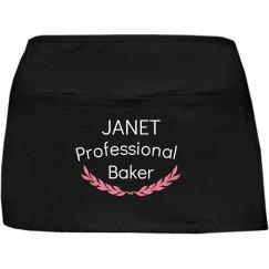 Janet professional baker