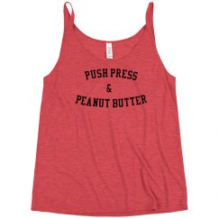Push Press and Peanut Butter