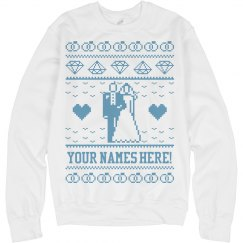 Ugly Xmas Sweater Bride