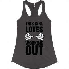 This Girl Loves Working Out Tank