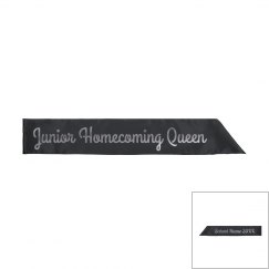 Custom Metallic Homecoming Queen
