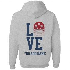 Love Football Zip