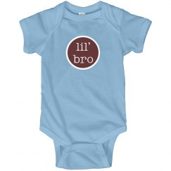 Lil Bro Onesie Little Brother