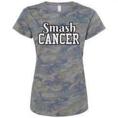 Smash Cancer Pink Camo
