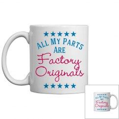 Original Parts Humor Mug