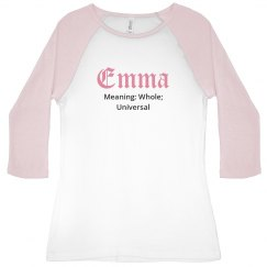 Emma name meaning shirt