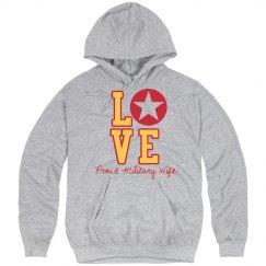 Military Love Hoodie