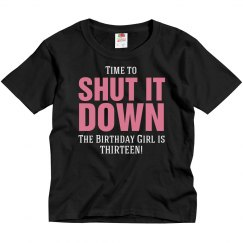 Time to shut it down shirt