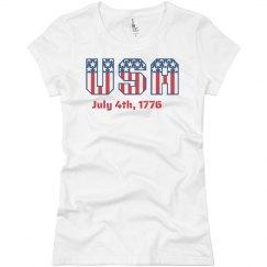 U.S.A July 4th