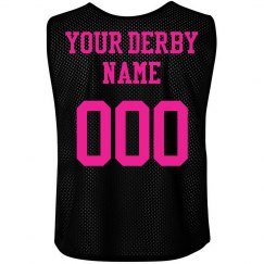Custom Roller Derby Neon Pinnie