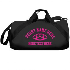 Custom Derby Gear Duffel Bag