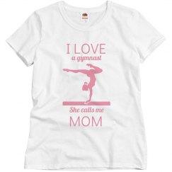 I love a gymnast