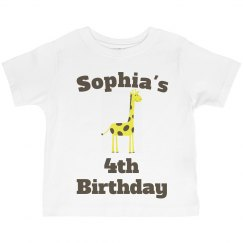 Sophia's 4th birthday
