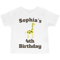 Sophia's 4th birthday