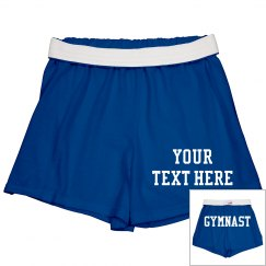 Custom Gymnast Shorts For Practice