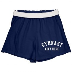 Retro College Gymnast Custom City