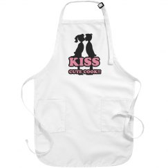 kiss the cute cook!