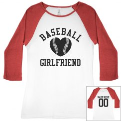 Baseball Girlfriend Tees