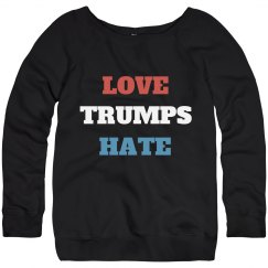 Anti-Trump Love Trumps Hate