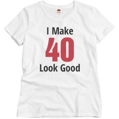 I make 40 look good
