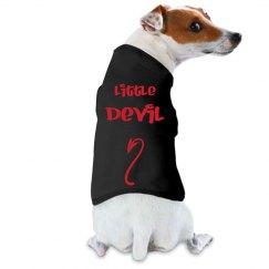 Little Devil Dog Shirt with Devil Tail