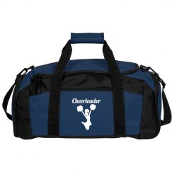 Navy Blue Duffle Bag