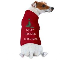 MERRY TRUCKING CHRISTMAS