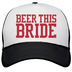 Inexpensive Beer This Bride Bachelorette Party Hat