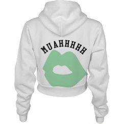 Muahhhhh Crop Top Sweater